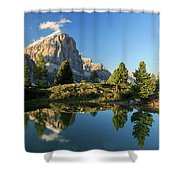 Lago Di Limides Shower Curtain