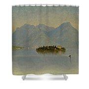 Lago Maggiore. Italy Shower Curtain