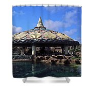 Lagoon Bar And Grill Shower Curtain