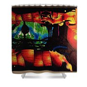 Lagoon Of The Lost Boys Shower Curtain