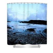 Lagoon Waters Shower Curtain