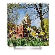Lagrange County Courthouse Shower Curtain