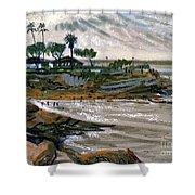 Laguna Beach 91 Shower Curtain