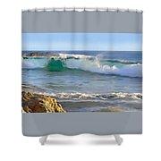 Laguna Serenity Shower Curtain