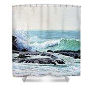 Laguna Splash Shower Curtain