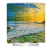 Laguna Tides Shower Curtain