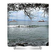 Lahaina Beach Shower Curtain