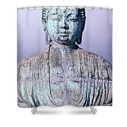 Lahaina Buddha At Jodo  Shower Curtain