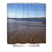 Lahinch Beach, West Of Ireland Shower Curtain