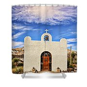 Lajitas Chapel 1 Shower Curtain
