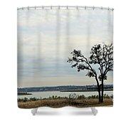 Lake 007 Shower Curtain