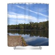 Lake 399 Shower Curtain