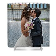 Lake Albano Shower Curtain