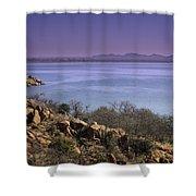 Lake Altus Lugert Shower Curtain