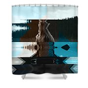 Lake And Beauty Ftg0002 Shower Curtain
