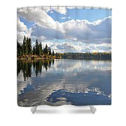 Lake And Clouds Shower Curtain