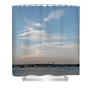 Lake And Clouds2 Shower Curtain
