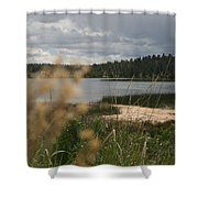 Lake Shower Curtain