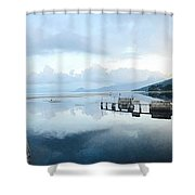 Lake Atitlan, Guatemala Shower Curtain