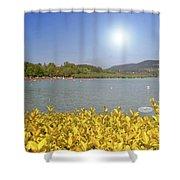 Lake Balaton, Hungary Shower Curtain
