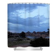 Lake Before A Storm Shower Curtain