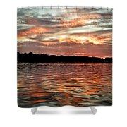 Lake Beulah Shower Curtain