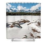 Lake Bierstadt Ver.2 Shower Curtain