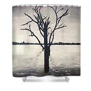 'lake Bonney' Shower Curtain