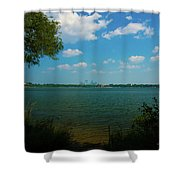Lake Calhoun 3796 Shower Curtain