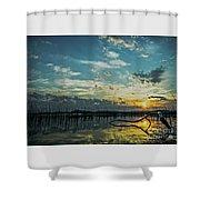 Lake Champlain Vermont Sunrise - 2 Landscape Shower Curtain
