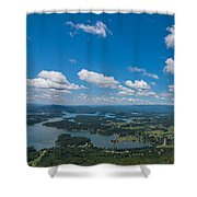 Lake Chatuge Shower Curtain