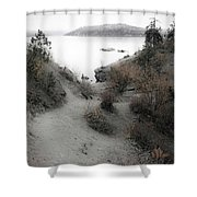Lake Coeur D'alene 2 Shower Curtain