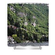 Lake Como 15 Shower Curtain