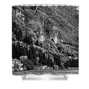 Lake Como 15b Shower Curtain