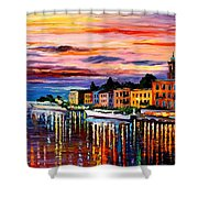 Lake Como - Bellagio  Shower Curtain