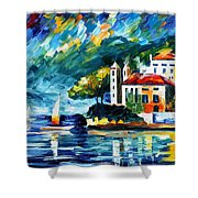 Lake Como Italy Shower Curtain