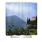 Lake Como - Varenna - Villa Cipressi Shower Curtain
