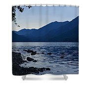 Lake Crescent Shower Curtain