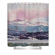 Lake Dillon Shower Curtain