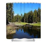 Lake Dreams Shower Curtain