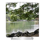 Lake Ella, Tallahassee Shower Curtain