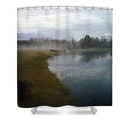 Lake Eufaula Shower Curtain