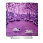Lake Fantasy Shower Curtain