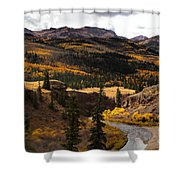 Lake Fork Of The Gunnison Shower Curtain