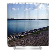 Lake Front Shower Curtain