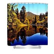 Lake Fulmor - Idyllwild, Ca Shower Curtain