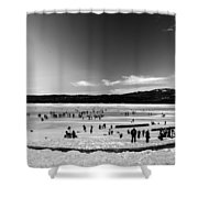 Lake Fun 5 Shower Curtain