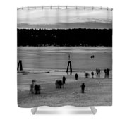 Lake Fun 6 Shower Curtain