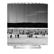 Lake Fun Shower Curtain