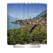 Lake Garda Limone Sul Garda Shower Curtain